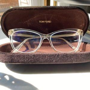Tom Ford clear eye glasses